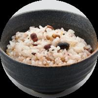 土鍋圧力釜で炊く十八穀米と白米